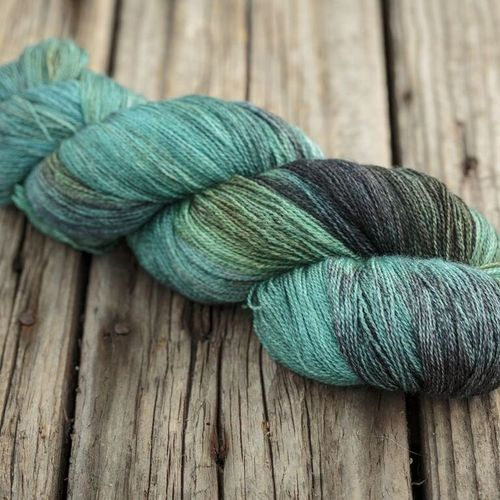 Fyberspates Gleem Lace #705 deep forest