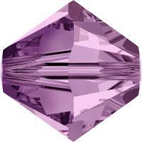 Swarovski Xilion 5328 #212 light amethyst 4mm