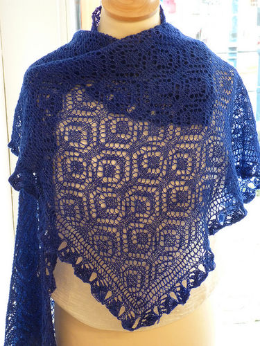 "Fyberspates ""Royal Wedding"" Shawl Einzelan. engl."