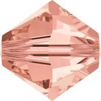 Swarovski Xilion 5328 #262 rose peach  4mm