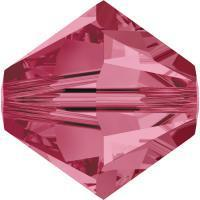 Swarovski Xilion 5328 #289 indian pink   4mm