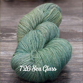 Fyberspates Gleem Lace #726 sea glass