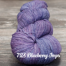 Fyberspates Gleem Lace #728 blueberry