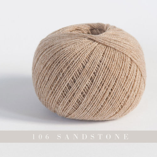 Yarntelier Cashmere Lace #106 sandstone 50g